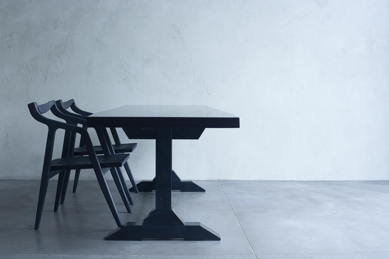 Ao.の椅子と机(写真:NOJYO高木俊幸写真事務所)