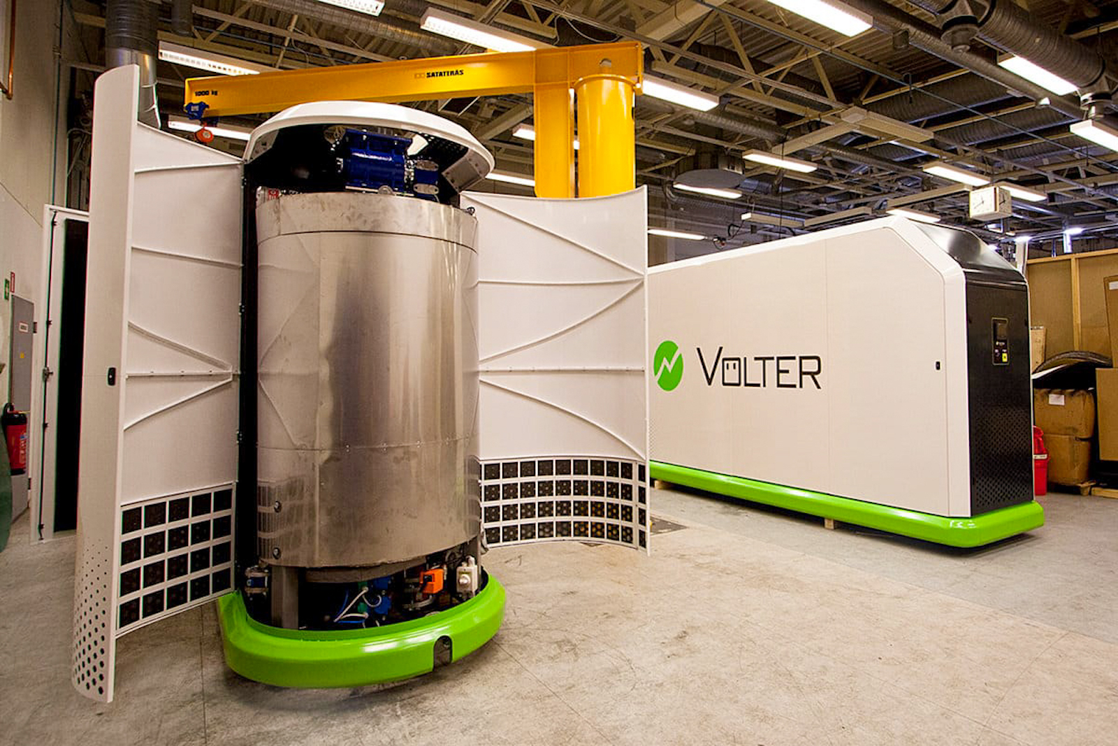 小型の木質バイオマス発電機の設置を計画中。