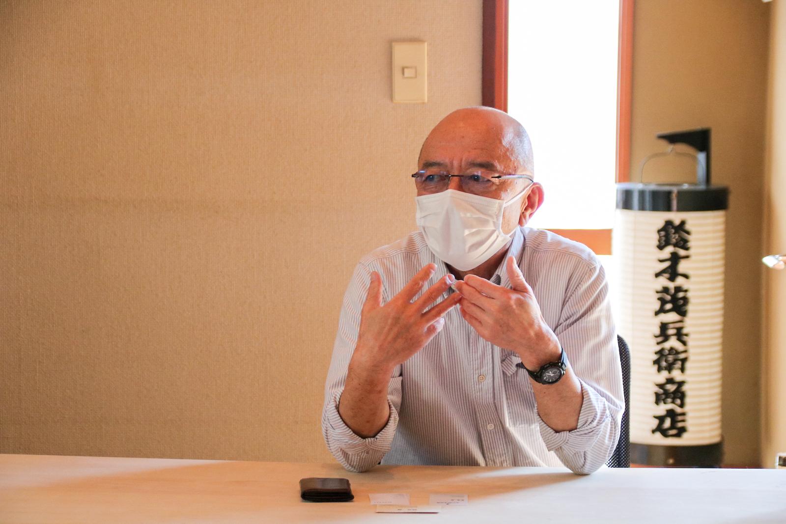 7代目の鈴木隆太郎さん