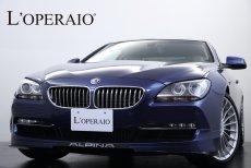 アルピナ B6 B6 coupe Bi-turbo 有償カラー ホワイトレザー 左ハンドル 地デジ  シルバーデコライン 純正 CLASSIC20インチAW 保証書 取扱説明書 スペアキー
