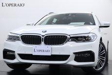 BMW 5シリーズ 523i Touring M-Sport ハイラインPKG コンフォートアクセス ドライビングアシストプラス アダプティブクルコン メモリーパワーシート 前後シートヒーター 純正HDDナビ 地デジ 360°カメラ 前後パークセンサー LEDヘッドライト 電動トランク 純正19インチAW ドラレコ 【新車保証令和3年6月迄】