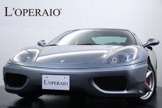 フェラーリ 360 モデナ F1 正規ディーラー チャレンジグリル デイトナシート ロッソキャリパー 七宝焼エンブレム カロッツェリア製HDDナビ