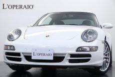 ポルシェ 911(Type997) Carera4S TIP-S スポーツクロノPKG ホワイトスポーツクロノ ホワイトメーター PASM PSM 純正19インチスポーツデザインAW 純正HDDナビ 地デジ バックカメラ キセノン GPSレーダー