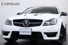 AMG Cクラス C63 Coupe Edition507 右ハンドル パノラマサンルーフ ハーマンカードンサウンド 専用ハイグロスパーツ 専用サイドデカール 専用19インチマットブラックアルミホイール レッドキャリパー  取扱説明書 整備記録簿 保証書 スペアキー