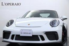 ポルシェ 911(Type991) GT3 6MT 2020年後期モデル Club-SportPKG Sport-ChronoPKG カーボンインテリアPKG フロントリフト スポーツエキゾースト PDLS 純正20インチブラックアルミホイール【新車保証R4年5月迄】