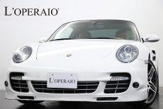 ポルシェ 911(Type997) Turbo Tip-S SportChrono-PKG 2007年モデル 社外HDDナビ 後期仕様LEDテール シートヒーター