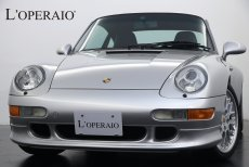 ポルシェ 911(Type993) Carrera S Tip-s エアロバージョン 最終モデル 正規ディーラー車 空冷最終モデル 純正オーディオ ETC アルミメーターリング 純正スポーツクラシックⅡ18インチアルミホイール ブラックキャリパー カラークレスト