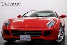 フェラーリ 599 F1 正規ディーラー車 デイトナシート カーボンブレーキ LED付きカーボンドライビングゾーンステアリング カーボンインテリアトリム イエローレブカウンター カロッツェリアHDDナビ 地デジ