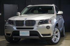 BMW X3 xドライブ35i 4WD 純正HDDナビ フルセグチューナー トップビューモニター 前席電動シート(メモリー付) サンルーフ シートヒーター 前後パークセンサー クルーズコントロール キセノンヘッドライト
