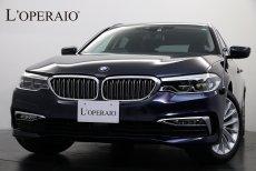 BMW 5シリーズ 523d Touring Luxury ブラックダコタレザー アダプティブクルコン インテリジェントセーフ ヘッドアップディスプレイ 純正18インチAW【新車保証継承令和3年9月迄】