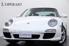 ポルシェ 911(Type997) Carrera PDK 左ハンドル スポーツクロノPKG PASM ブラックレザー シートヒーター イルミドアシルプレート デイライトコーティング 純正18インチAW【車検令和3年11月迄】