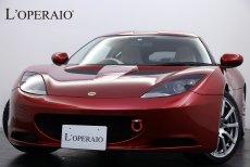 ロータス エヴォーラ 2+2シーター 6MT 正規ディーラー車 アイボリーホワイトレザー 右ハンドル ジャンスピードチタンマフラー レカロシート カロッツェリア製HDDナビ