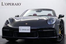 ポルシェ 911(Type992) Turbo S Cabriolet  ワンオーナー  オプション総額220万円 Sport‐ChronoPKG PCCB スポーツエギゾースト フロントアクスルリフト PASM アダプティブクルコン 純正20/21インチターボSAW【新車保証継承R05年9月迄】