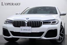 BMW 5シリーズ 523i M-Sport 希少2020年現行モデル 即納車可能 ワンオーナー イノベーションPKG ジェスチャーコントロール ハンズオフアシスト BMWレーザーライト 純正19インチアルミホイール【新車保証R5年10月迄】