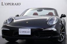 ポルシェ 911(Type991) Carrera S Cabriolet PDK スポーツクロノPKG スポーツエキゾースト PCCB ポルシェエントリー&ドライブシステム パワーアップキット400ps→430ps