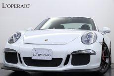 ポルシェ 911(Type991) GT3 PDK 正規ディーラー車 スポーツクロノPKG フロントリフト レッドキャリパー スポーツエキゾースト シートヒーター バックカメラ