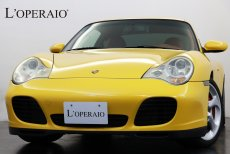 ポルシェ 911(Type996) Carrera 4S 6MT 後期モデル 正規ディーラー車 左ハンドル テラコッタレザーインテリア ストラーダ製HDDナビ 地デジ バックモニター