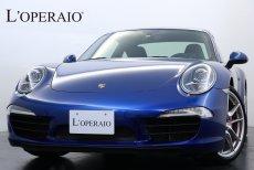 ポルシェ 911(Type991) カレラS PDK 左H スポーツクロノPKG スポーツエグゾースト スポーツステアリング オールレザーインテリアPKG 純正20インチアルミ シートヒーター