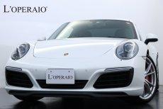 ポルシェ 911(Type991) 991 Carrera S PDK アゲートグレーレザー スポーツシートプラス シートヒーター ポルシェエントリー&ドライブ 電動格納ミラー バックモニター 前後パークセンサー PDLS(キセノン) 純正20インチカレラSアルミホイール レッドキャリパー【車検R03年6月】