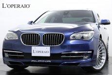 アルピナ B7 Biturbo Limousine Allrad 法人ワンオーナー 後期モデル 左ハンドル サンルーフ ブラック×ダークブルーコンビステアリング 純正21インチアルミ ディーラー整備記録簿完備