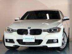 BMW 3シリーズ 320dブルーパフォーマンスMスポーツ 純正HDDナビ レーンアシスト付きバックカメラ 純正18インチアルミホイール 運転席メモリーパワーシート HIDヘッドライト ETC パドルシフト MTモード付AT アルカンターラシート