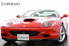 フェラーリ 575Mマラネロ F1 正規ディーラー車 タイベル交換済 レッドキャリパー 七宝焼エンブレム SONYオーディオ 整備記録簿多数完備