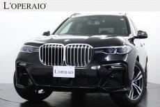 BMW X7 xドライブ35d Mスポーツ ワンオーナー ウェルネスPKG スカイラウンジパノラマサンルーフ 純正21インチアルミホイール  ハーマンカードンサウンド【新車保証継承R05年2月迄】