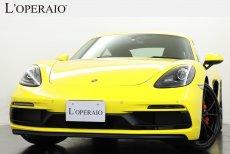 ポルシェ 718 Cayman GTS PDK ワンオーナー Sport‐ChronoPKG Sport-Exhaust アルカンターラGTスポーツステアリング ポルシェエントリー&ドライブ 【新車保証継承令和03年10月迄】
