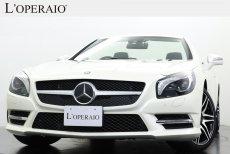 メルセデスベンツ SLクラス SL350 2LOOK Edition 限定30台 マジックスカイコントロールルーフ ブラック×デジーノプラチナホワイトインサートレザー