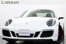 ポルシェ 911(Type991) Carrera4 GTS PDK SportChrono-PKG 右ハンドル  Sport-Exhaust PASM LEDヘッドライト シートヒーター20インチマットブラックアルミホイール 【新車保証令和3年12月迄】