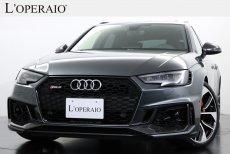 アウディ RS4アバント 2.9 quattro 走行距離2,000キロ台 オプション総額150万円以上 査定評価外装6点 内装A評価 【新車保証継承令和4年8月迄】