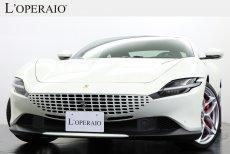 フェラーリ ローマ F1 DCT 左ハンドル ワンオーナー 走行距離700km カーボンLEDステアリング【新車保証継承R06年7月迄】