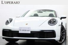 ポルシェ 911(Type992) Carrera Cabriolet PDK ワンオーナー 20/21インチクラシックAW BOSE 14wayメモリーパワーシート 【新車保証継承R04年12月迄】