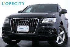アウディ Q5 2.0 TFSI quattro S-LinePKG スマートキー オートトランク 純正19インチアルミ【車検H30年10月迄】