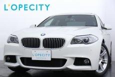 BMW 5シリーズ 535i M-SportPKG 低走行 サンルーフ パドルシフト付ステアリング 【車検H30年11月迄】