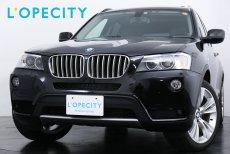 BMW X3 X3 XDRIVE35i ブラックレザー サンルーフ 純正HDDナビ 電動テールゲート 車検H31年6月迄