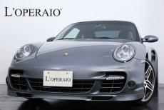 ポルシェ 911(Type997) Turbo Tip-S サンルーフ ウッドインテリアトリム 下回り同色ペイント カロッツェリア製HDDナビゲーション