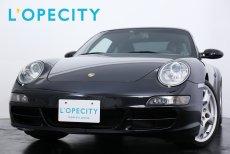 ポルシェ 911(Type997) Carrera Tip-S スポーツクロノパッケージ カレラS用19インチアルミ レッドキャリパー PASM 【車検H31年12月迄】