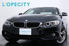 BMW 4シリーズ 428i Coupe sport 純正HDDナビ 地デジ バックカメラ 純正19インチAW ブラックステアレッドステッチ 車検30年12月迄