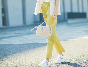 キレイめ&リラクシー☆春のパンツスタイル
