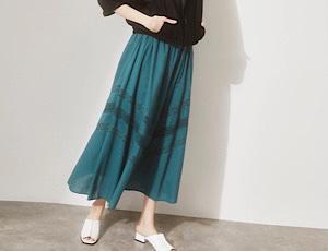 暑い時期のオシャレは『映えスカート』が叶えます☆