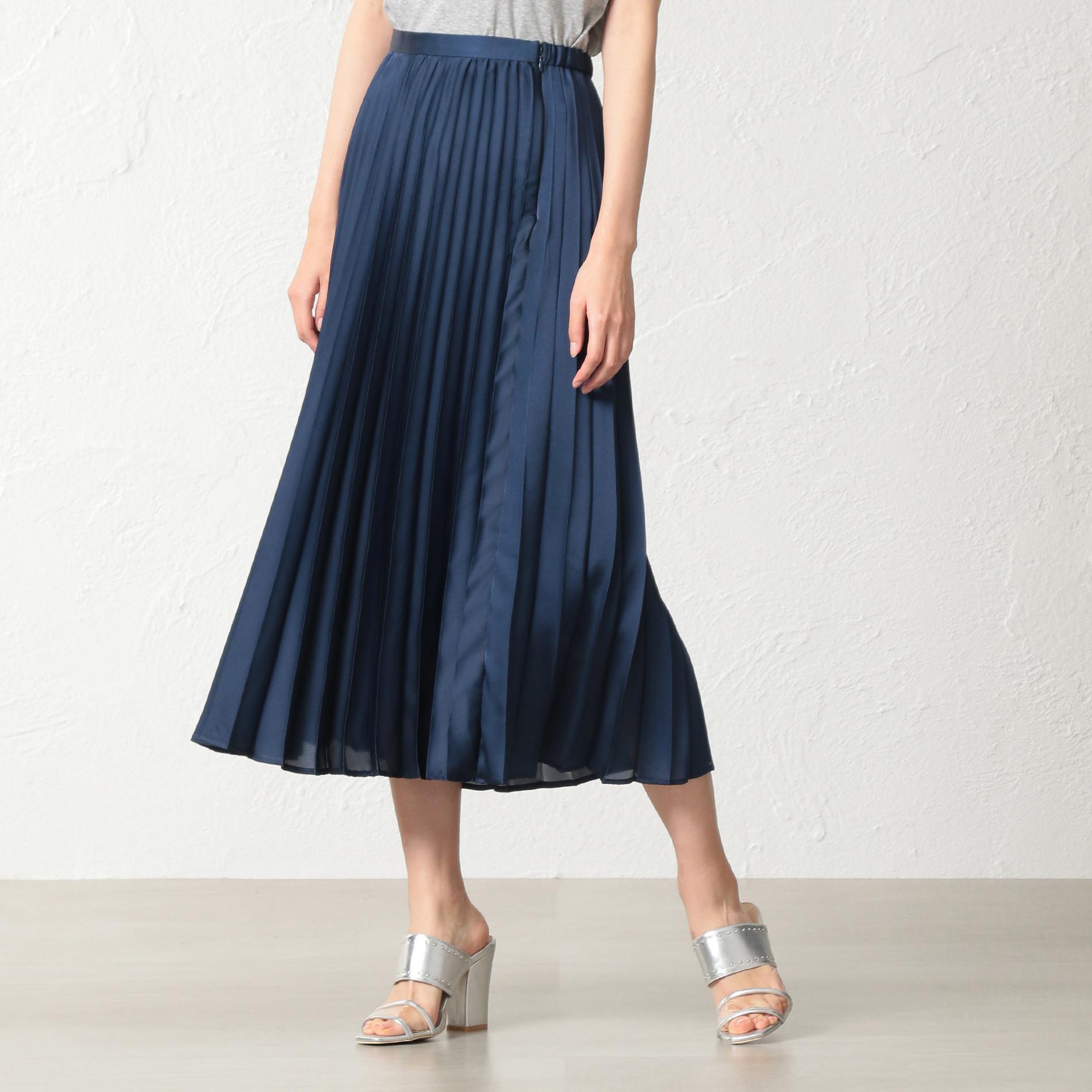 WOMEN プリーツスカート