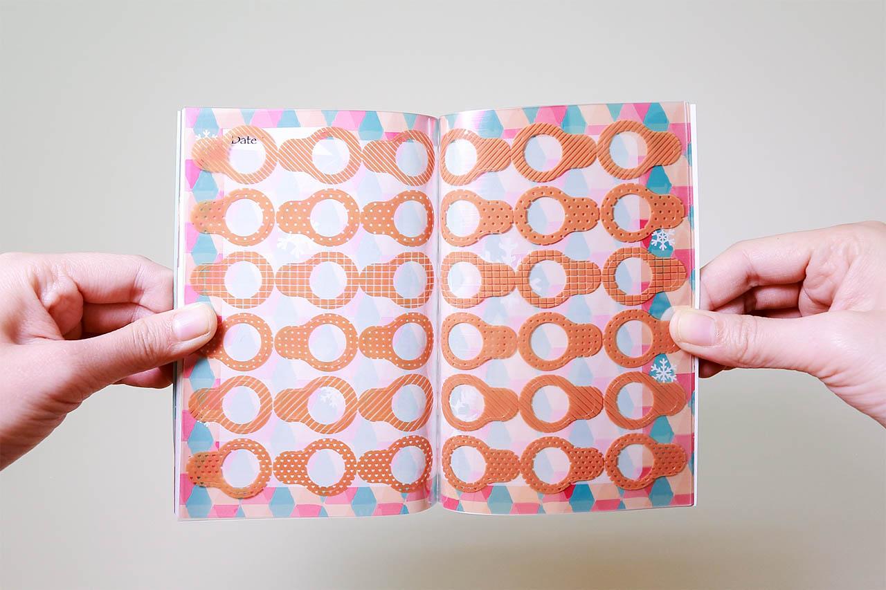 貼紙簿(108 張平面貼紙)