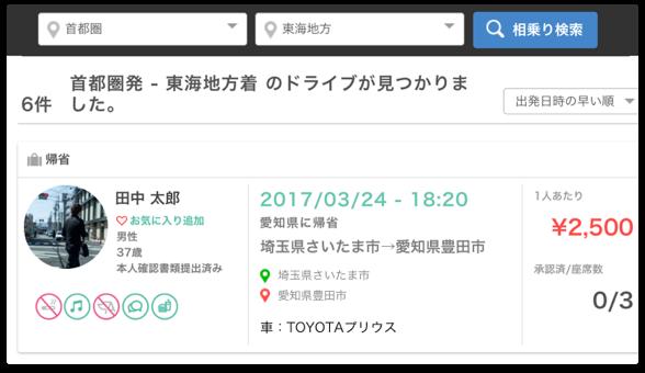 ドライブ登録のイメージ