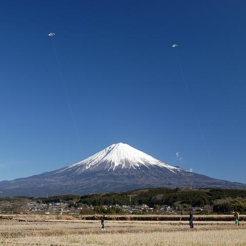 柚野 凧揚げ (富士山ビューポイント)のサムネイル