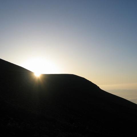 富士宮ルート(六合目)(富士山からの日の出写真)のサムネイル
