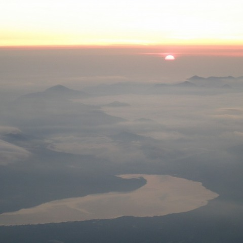 須走ルート八合目下江戸屋 (富士山からの日の出写真)のサムネイル