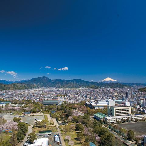 静岡県庁別館21階展望ロビーのサムネイル