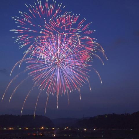 鹿島の花火大会のサムネイル