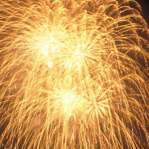 按針祭 松川・灯籠の流れ 打上花火のサムネイル